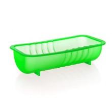 BANQUET Silikonový srnčí hřbet 26x13x6,5 cm Culinaria green 3120065G