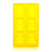 BANQUET Silikonová forma 6ks méďové 31x18x2 cm Culinaria yellow 3120175Y