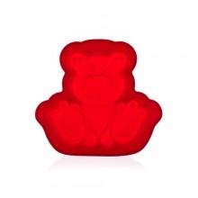BANQUET Silikonová forma méďa 19,8x20,7x4.5cm Culinaria red 3122060R