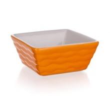 BANQUET Zapékací forma čtvercová 9,5x9,5cm Culinaria Orange 60ZF16