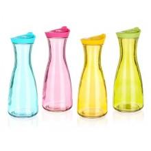 BANQUET Barevná skleněná láhev MISTY 900 ml assort 04K9010
