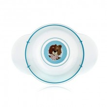 BANQUET Dětská plastová miska 175x124x59 mm, motiv Bear 55BW4KDSBR