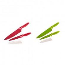BANQUET FINESTRA Colore Sada nožů s nepřilnavým povrchem 2 ks 25LI008102MIX-A