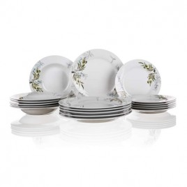 BANQUET OLIVES Sada talířů 18 ks, OK 600005OL