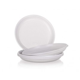 BANQUET Talíř plastový dia 20,5 cm, 12 ks, material PS, váha 8,54 g 4402300