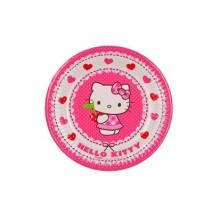 PROCOS Talíř papírový dia 19,5cm, 8KS Hello Kitty 4481792