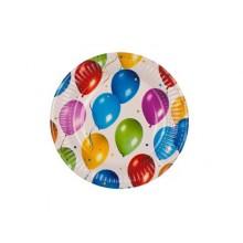 PROCOS Talíř papírový dia 19,5cm, 8KS Balloons 4484425