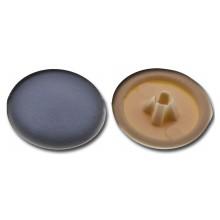 Krytka plastiková pro univerzální vruty hnědá, 30 ks