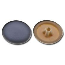Krytka plastiková pro univerzální vruty hnědá, 40 ks