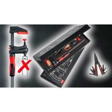 BESSEY Sada 2x GK30 GearKlamp + multifunkční nůžky