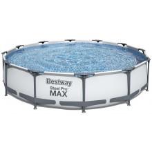 BESTWAY Bazén Steel Pro Max, kartušová filtrace 366x76 cm 56416