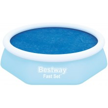 BESTWAY Solární plachta pro bazén 244 cm 58060
