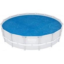 BESTWAY Solární plachta pro bazény 457 cm a 488 cm 58253