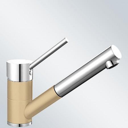 BLANCO Antas-S dřezová baterie Silgranit-look, beztlaková, champagne/chrom 516768