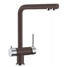 BLANCO Fontas dřezová baterie na filtrovanou a užitkovou vodu káva/chrom 518513