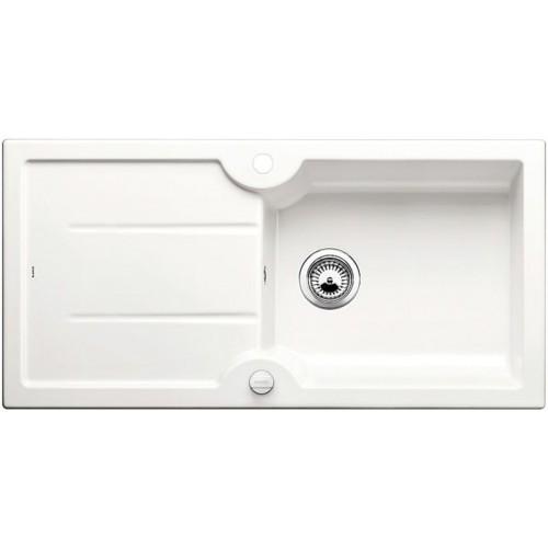 BLANCO Idessa XL 6 S dřez keramika zářivě bílá, oboustranné provedení, s excentrem 520308