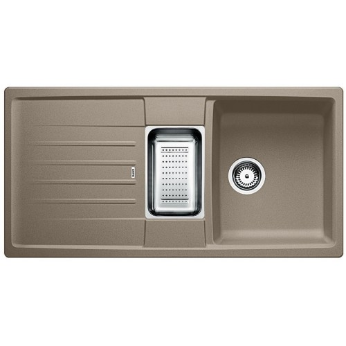 blanco lexa 6 s d ez silgranit tartufo 517338. Black Bedroom Furniture Sets. Home Design Ideas