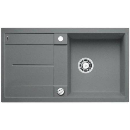 BLANCO Metra 5 S dřez Silgranit 840 x 480 mm, aluminium 513036