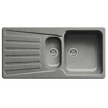 BLANCO Nova 6 S dřez Silgranit, bez excentru, aluminium 511699