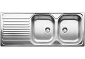 BLANCO Tipo 8 S Basic dřez včetně sifonu 1210 x 500 mm, nerezový 511925