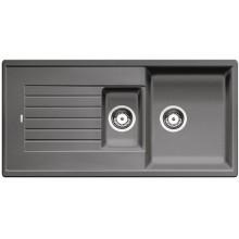 BLANCO Zia 6 S dřez Silgranit, bez excentru , aluminium 514741