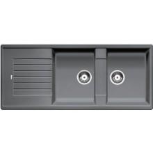 BLANCO Zia 8 S dřez včetně sifonu, aluminium 515596