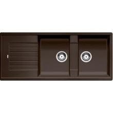 BLANCO Zia 8 S dřez včetně sifonu, kávová 515602