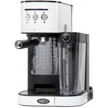 Boretti Espresso kávovar pákový 1470 W, bílý B402