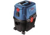 BOSCH GAS 15 PS vysavač 1100 W, zásuvka, poloautomatický oklep 06019E5100