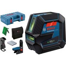 BOSCH GCL 2-50 G Kombinovaný laser, 4x baterie AA, + Kufr 0601066M02