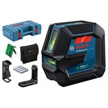 BOSCH GLL 2-15 G Čárový laser, 4x baterie 1,5 AA + Kufr 0601063W02