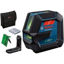 BOSCH GLL 2-15 G Čárový laser, 4x baterie 1,5 AA 0601063W00