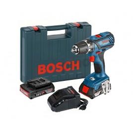 BOSCH GSR 18-2-LI Plus Professional aku vrtačka 2x2Ah Li-Ion v kufru 0.601.9E6.120