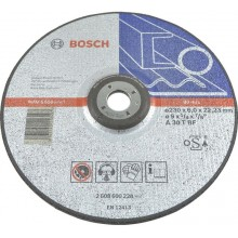 BOSCH Expert for Metal Hrubovací kotouč profilovaný, 230x22,23x6 mm 2608600228