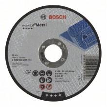 BOSCH Dělicí kotouč rovný Expert for Metal 125x2,5mm 2608600394