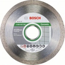 BOSCH Standard for Ceramic Diamantový dělicí kotouč, 115 x 22,23 x 1,6 x 7 mm 2608602201