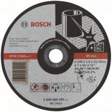 BOSCH Dělicí kotouč rovný Expert for Inox, 180x2 mm 2608600095