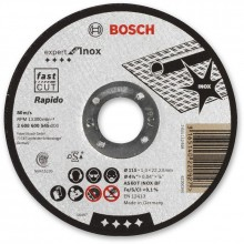 BOSCH Expert for Inox - Rapido Dělicí kotouč rovný, 115x22,23x1mm 2608600545