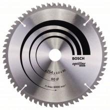 BOSCH Pilový kotouč Optiline Wood, 254x2,0/1,4 mm 2608640436