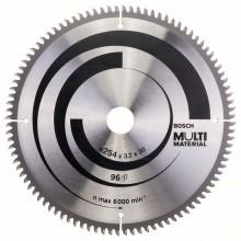 BOSCH Pilový kotouč Multi Material, 254x3,2/2,5 mm 2608640451