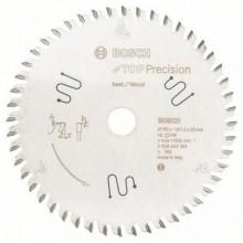 BOSCH Pilový kotouč do okružních pil Top Precision Best for Wood, 165x1,8/1,3 mm 2608642384
