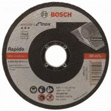 BOSCH Dělicí kotouč rovný Standard for Inox - Rapido, 115x1 mm 2608603169