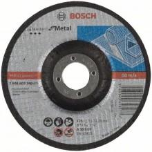 BOSCH Dělicí kotouč profilovaný Standard for Metal, 125 mm 2608603160