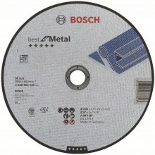 BOSCH Dělicí kotouč rovný Best for Metal, 230x2,5 mm 2608603530