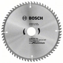 BOSCH Pilový kotouč Eco for Aluminium, 210x1,8 mm 2608644391