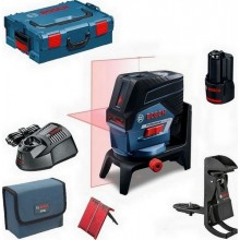 BOSCH GCL 2-50 C křížový laser + BM 3 + RM 2 + 1 x aku 2,0 Ah + L-Boxx 0601066G03