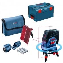 BOSCH GCL 2-50 C křížový laser + RM 3