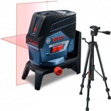 BOSCH GCL 2-50 C křížový laser + BT 150 Professional stativ 0601066G02