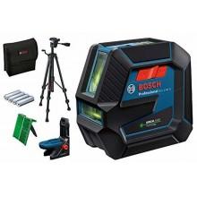 BOSCH GCL 2-50 G Kombinovaný laser, 4x baterie AA, + Stativ BT 150, 0601066M01