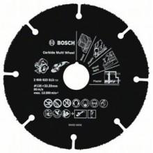 BOSCH Multi Wheel Rozbrušovací kotouč z tvrdokovu, 125mm 2608623013